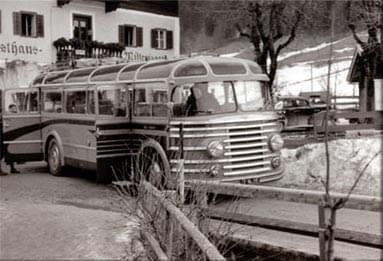 Taxi und Busreisen Schreder - Chronik